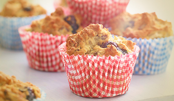 Wallflower Girl Berry Muffins