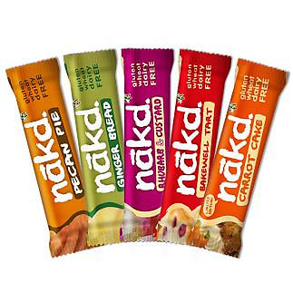 Nakd Pudding Mixed Case