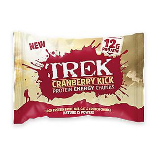 TREK Cranberry Kick Protein Energy Chunks