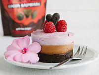 Nākd Raspberry Posh Mousse Cake Update