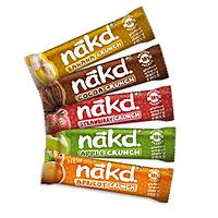 Nakd Mixed Crunch Case - Banana, Cocoa, Strawberry, Apple, Apricot