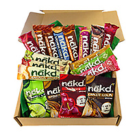 Your favourite nakd healthy snacks in one handy box - 100% natural snacks