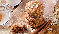 Spice oat cookies